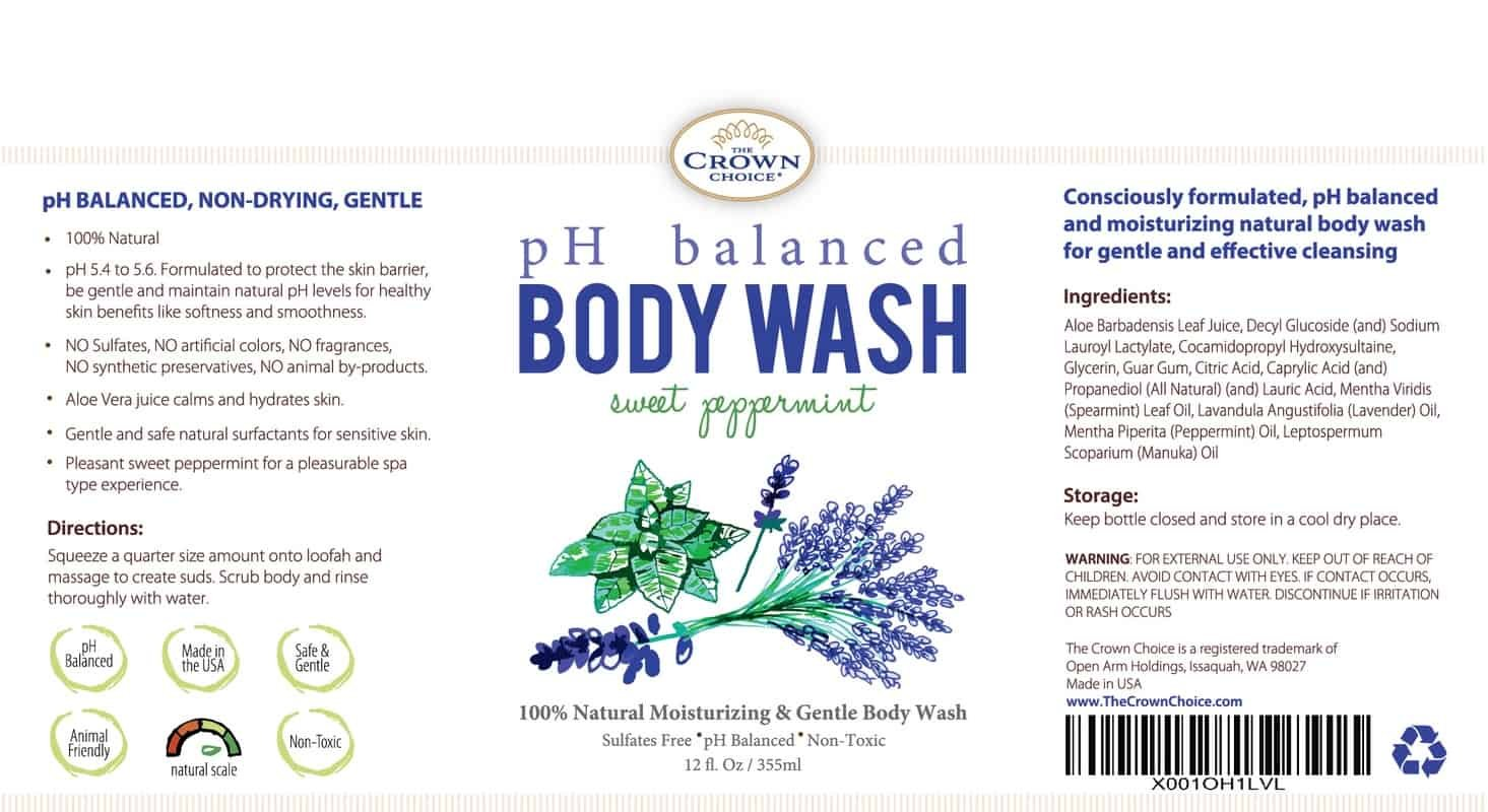 The Best pH Balanced Body Wash for Your Skin 1