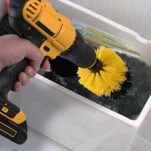 how to clean toilet tank