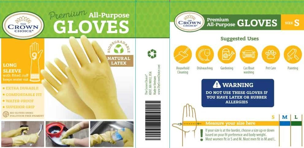 Biodegradable kitchen dishwashing gloves (5PK)—Long and Thick All Purpose for Cleaning, Dish Washing and Hand Protection 12