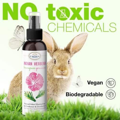green air freshener spray is non toxic
