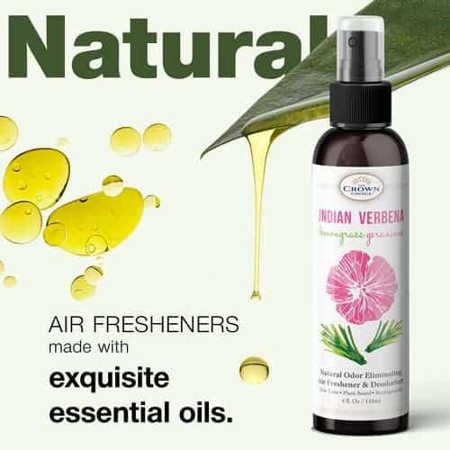 green air freshener spray is earth friendly
