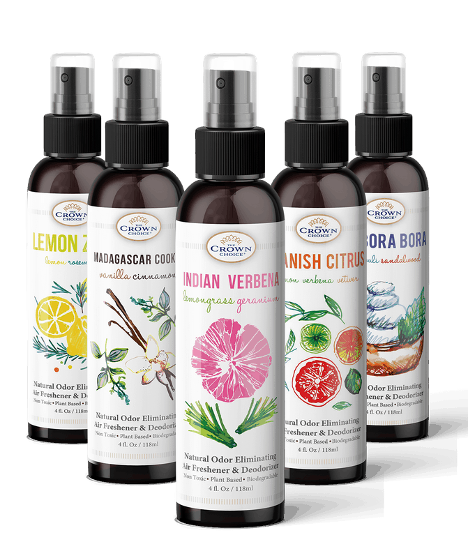 natural air freshener 5pk gift set from The Crown Choice