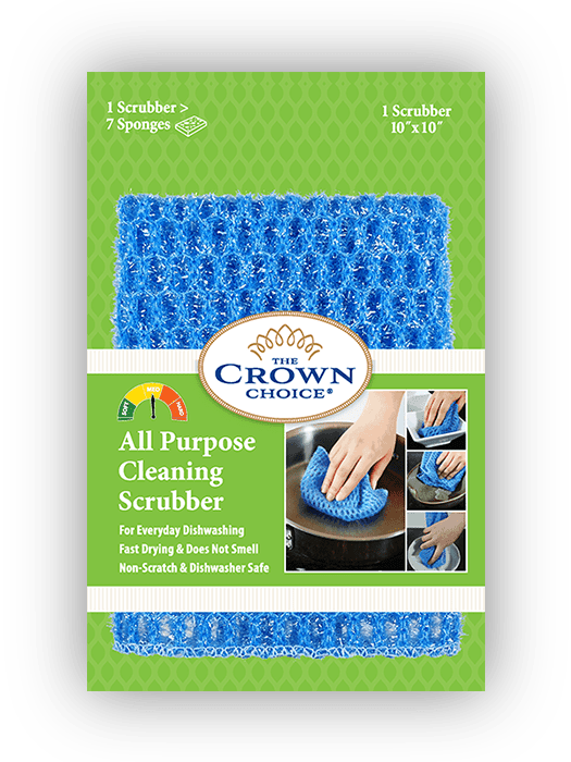 all purpose dish scrubber the crown choice