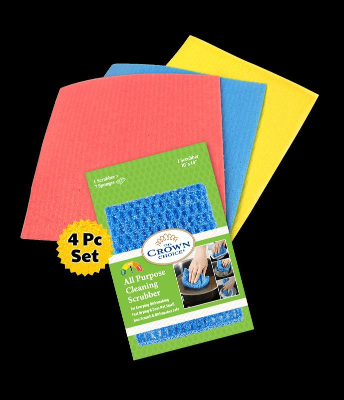 all purpose sponge cloth cleaning bundle