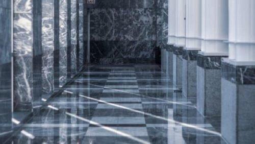 polished clean tiled floor