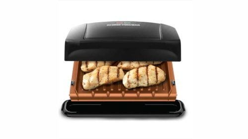 george foreman grill in use