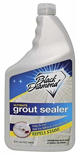 remove gunk from your grout lines using black diamond's grout sealer