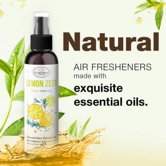 lemon room spray