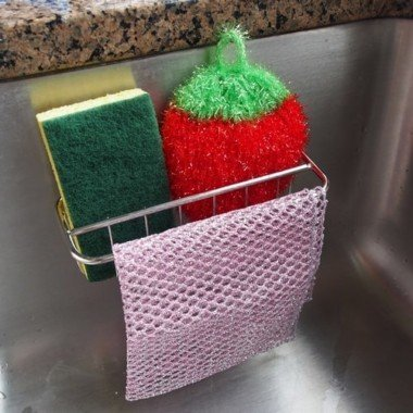 sponge dish cloth holder