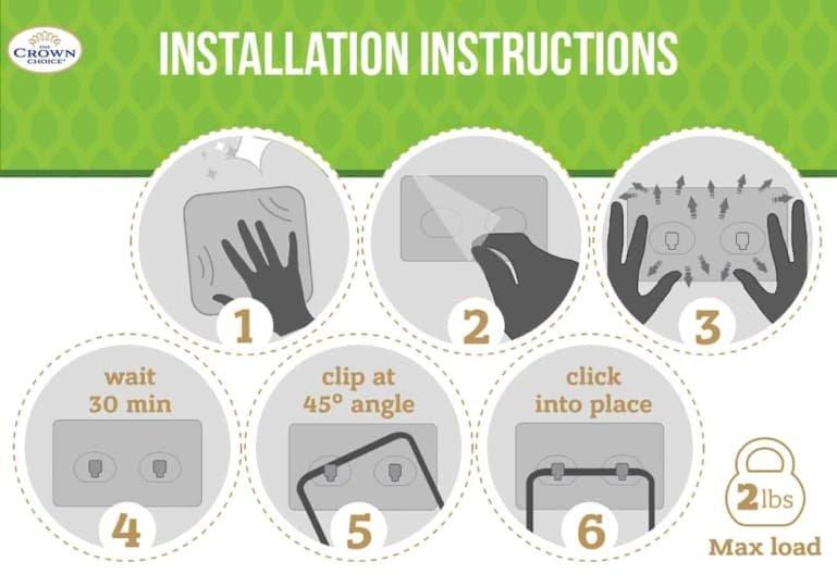 best sponge holder install instructions