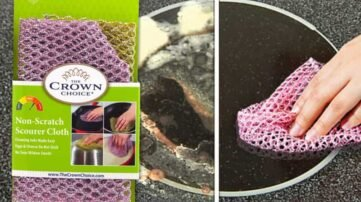 non scratch scouring pad