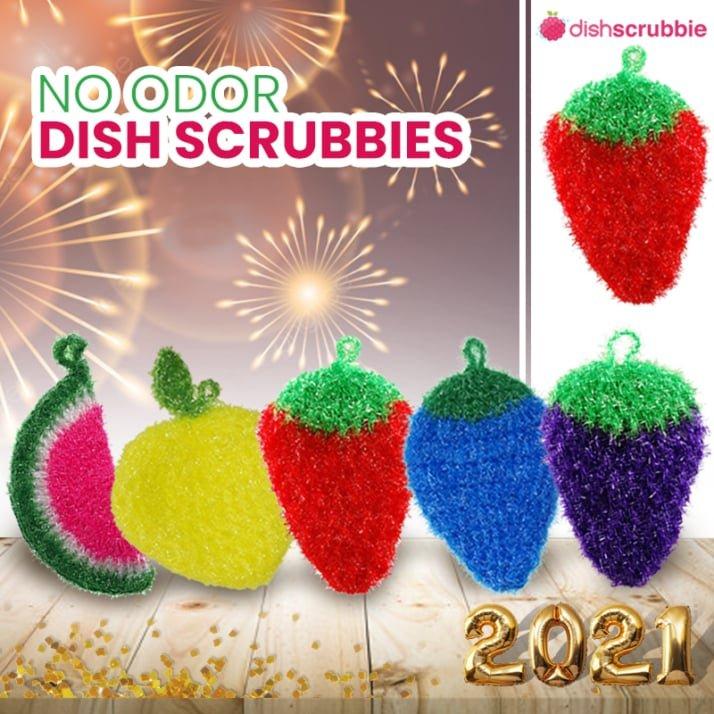 dish scrubbie new year