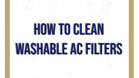 How to Clean Washable AC Filters