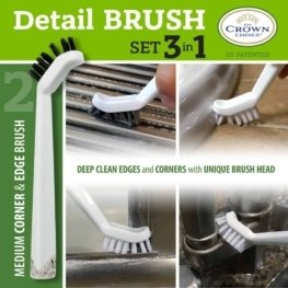 Best tile cleaning brush combo – 4 piece set 11