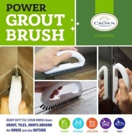 Best tile cleaning brush combo – 4 piece set 8