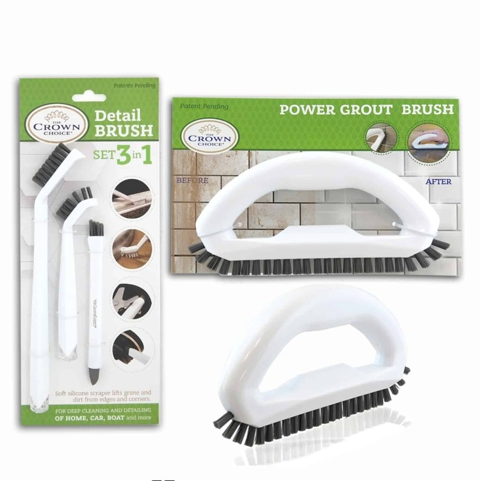 Best tile cleaning brush combo – 4 piece set 3