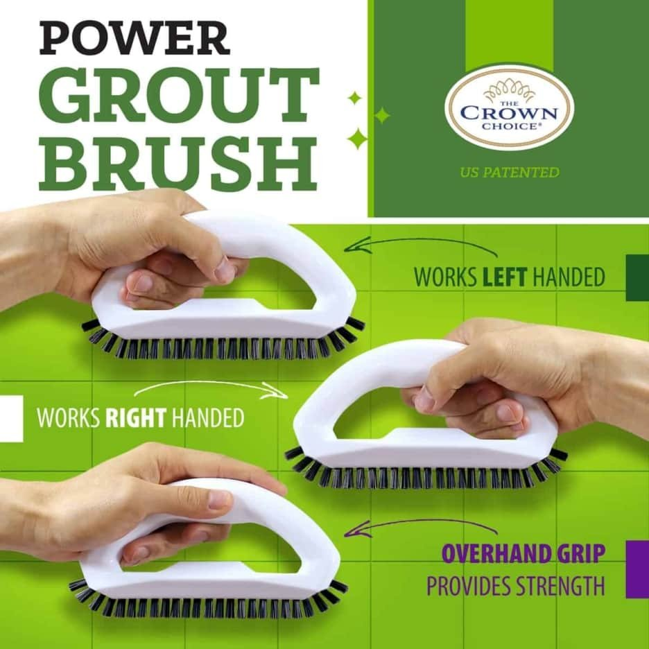 Best tile cleaning brush combo – 4 piece set 4