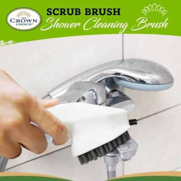 shower scrubber