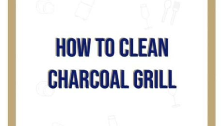 how to clean charcoal grill