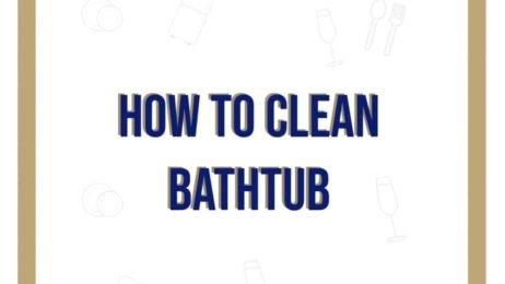 how to clean bathtub