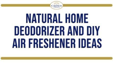 Natural Home Deodorizer and DIY Air Freshener Ideas
