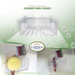 corner sink caddy