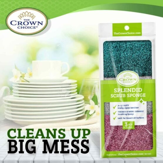 kitchen sponge scrubber