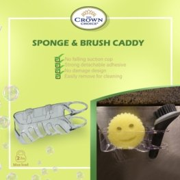 Sponge and dish brush holder