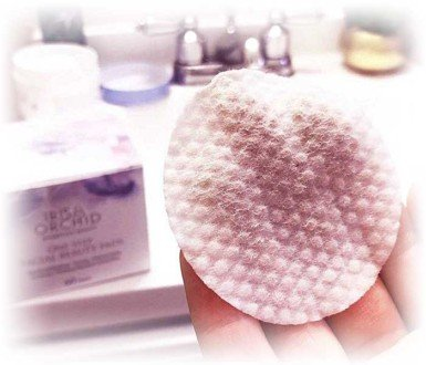 facial cleansing pad how to use