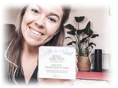facial cleansing pads ingredients natural