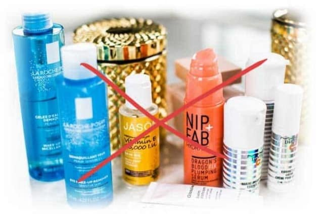 reduce skincare products