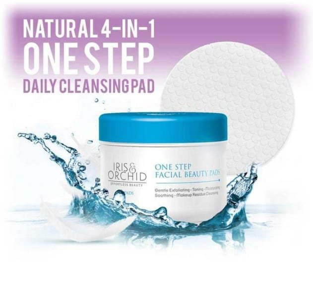 facial cleansing pads iris orchid