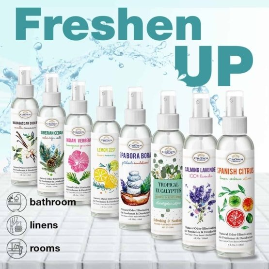 Our Natural Essential Oil Deluxe Air Freshener