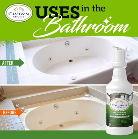 The Crown Choice Power Cleanser. Best Bar Keepers Friend Alternative