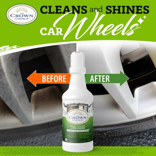 The Crown Choice Power Cleanser. Best Bar Keepers Friend Alternative 12