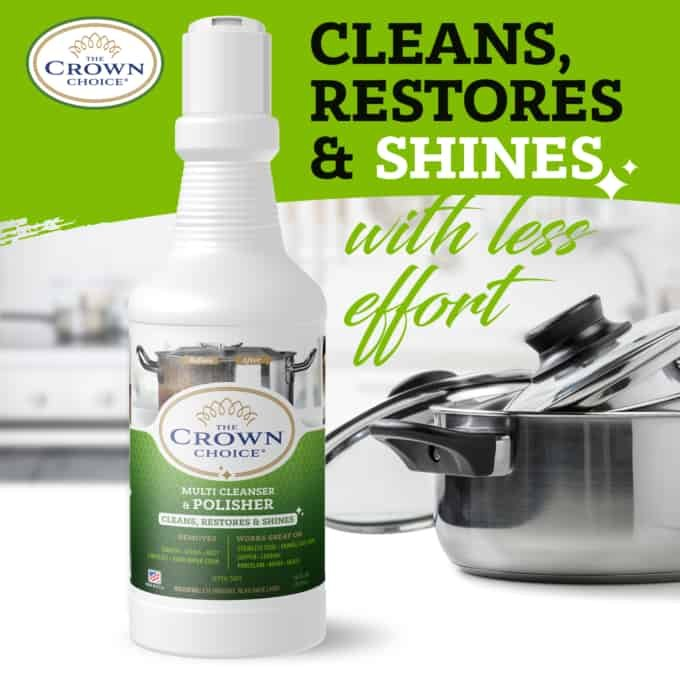 The Crown Choice Power Cleanser. Best Bar Keepers Friend Alternative 5