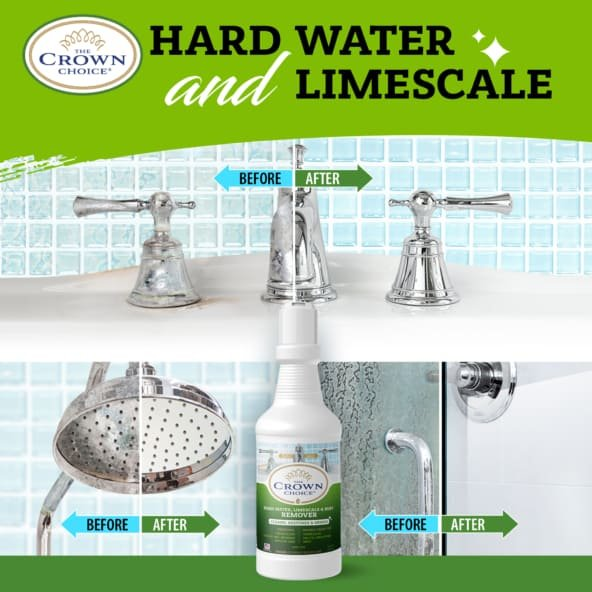 Best Hard Water Stain Remover -The Crown Choice Hard Water Stain Remover 19