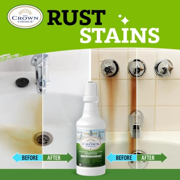 Best Hard Water Stain Remover -The Crown Choice Hard Water Stain Remover 20