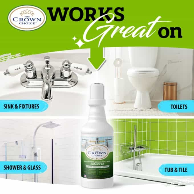 Best Hard Water Stain Remover -The Crown Choice Hard Water Stain Remover 7