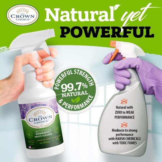 Lavender Multi Purpose Cleaner -The Crown Choice Multi Purpose Cleaner 13