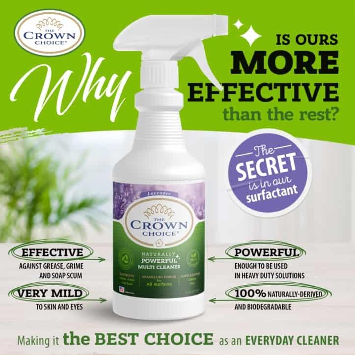 Lavender Multi Purpose Cleaner -The Crown Choice Multi Purpose Cleaner 15