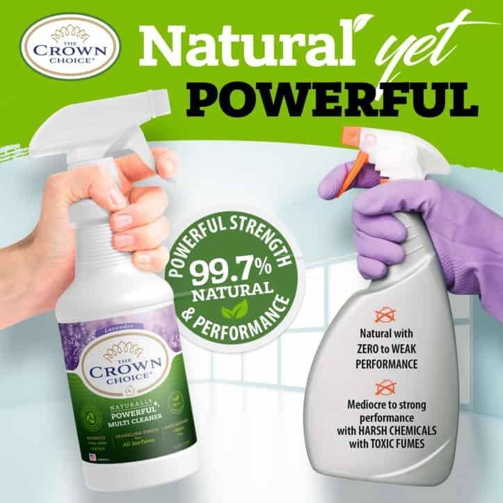 Lavender Multi Purpose Cleaner -The Crown Choice Multi Purpose Cleaner 16