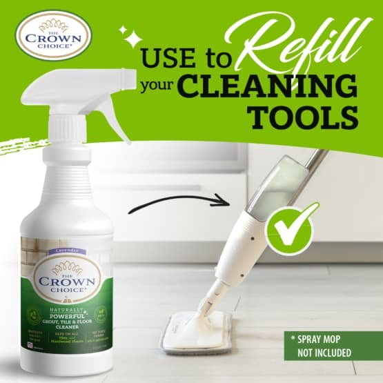 The Crown Choice Best Grout Cleaner Kit 9