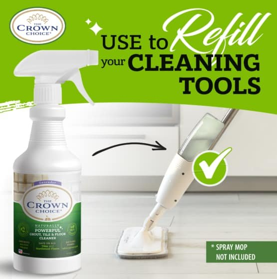 Best Natural Grout Cleaner Solution - Powerful Tile and Floor Cleaning 6