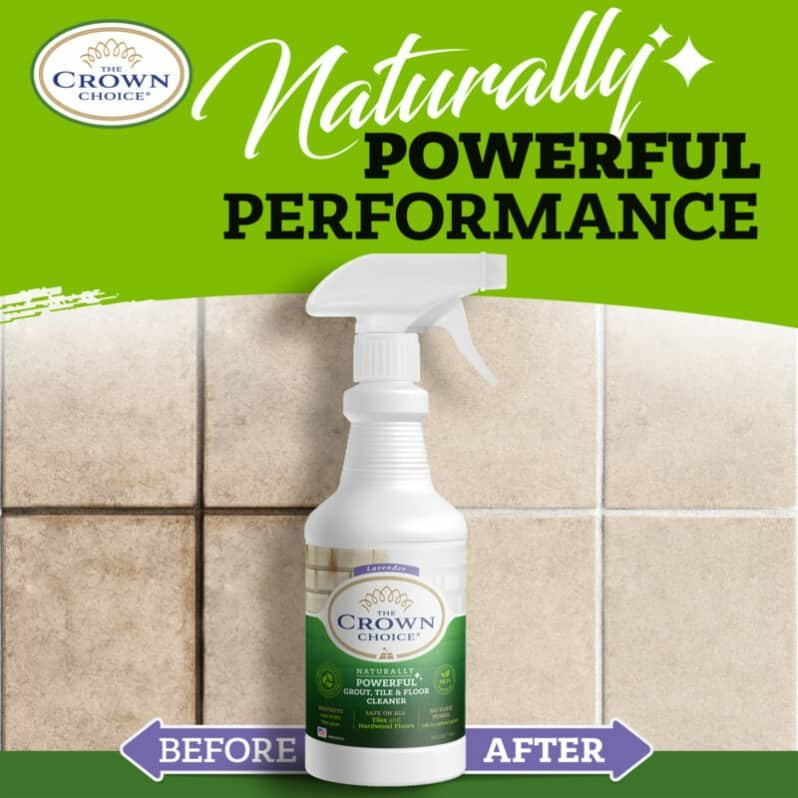 Best Natural Grout Cleaner Solution - Powerful Tile and Floor Cleaning 3