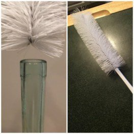 Water Bottle Cleaner with Straw Brush Set – 16″ long and fits inside narrow necks like beer and wine bottles 9