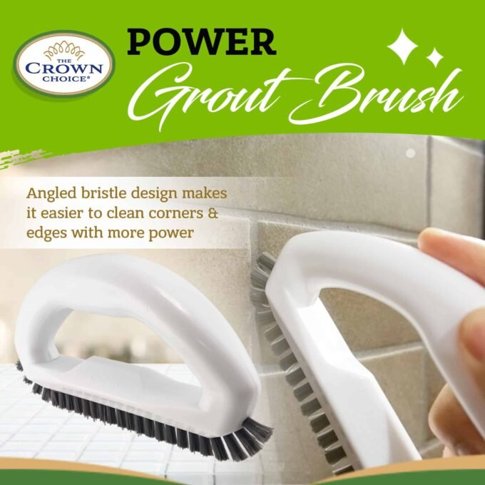 Grout Brush - Say goodbye to dirty grout with this grout cleaning brush 4
