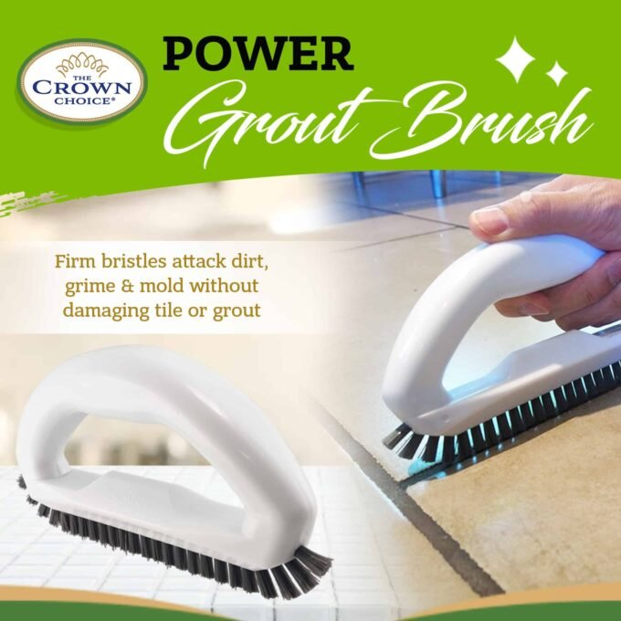 Grout Brush - Say goodbye to dirty grout with this grout cleaning brush 3