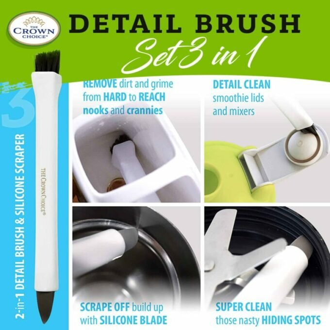 Detail brush cleaning brush