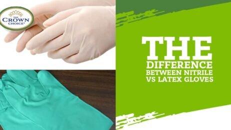 nitrile vs latex gloves